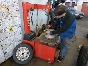 Výměna pneumatiky